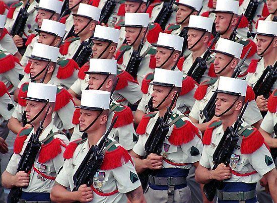Як потрапити в французький іноземний легіон