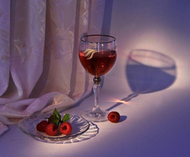 Як зробити вино з малини