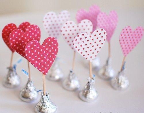 Як прикрасити цукерки на день святого валентина