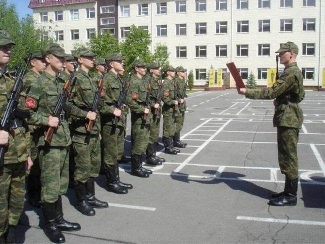 Як вести себе в армії